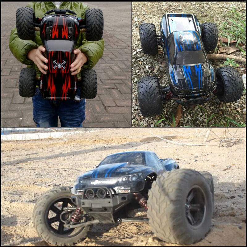 New High speed rc car Model toys 1:12 Proportion All terrain 2.4GHz 2WD Brush Radio Remote Control rc Monster Truck vs a959-B