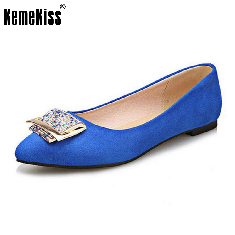 big size 31-47 women flat shoes appliques pointed toe lady sweet quality super soft female cozy flats footwear shoes P22987 big size 31 47 spring autumn women shoes fashion pointed toe ankle strap flats beading decoration flat sandals zapatos mujer