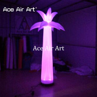 Cheapest inflatable palm tree,chamaerops for yard decoration,inflatable palm tree with colorful led light by Ace Air Art