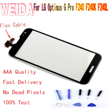 цена на 5.5'' For LG Optimus G Pro F240 F240K F240L LCD Display Touch Screen DigitizerReplacement With free tool