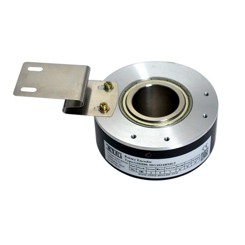Sensores de Velocidade do Eixo oco Codificador Óptico Rotativo Aplicado Em Elevador personalizar 18 20 30mm buraco