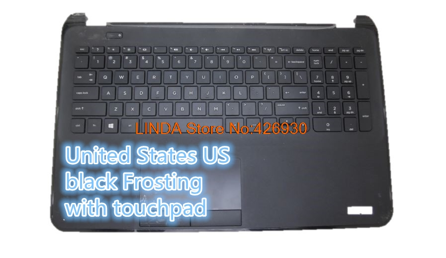 Laptop PalmRest&keyboard for HP 15-D000 250 G2 255 G2 FOR Compaq 15 United States US black/red/blue 747140-001 747142-001