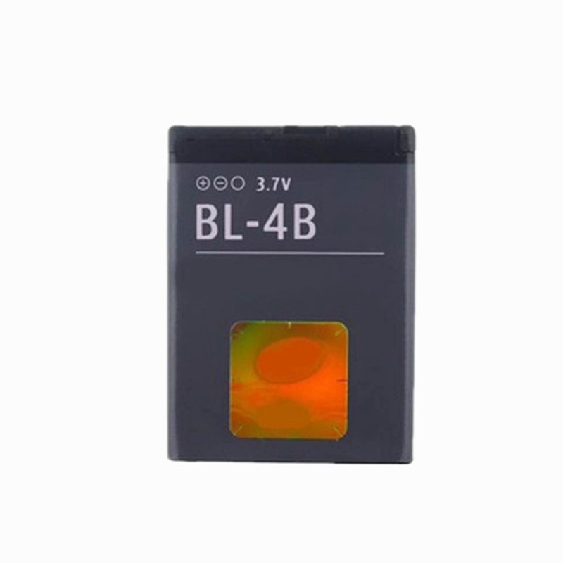 BL-4B 3.7V Battery Replacement for <font><b>Nokia</b></font> 6111 7370 7373 7500 <font><b>N76</b></font> 2600C 2630 5000 Mobile Cell phone Rechargeable Lithium battria image