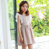 Baby Girl Dress 2018 New Summer Clothes Korean Princess Dress Girls Dress In Lace Princess Dress