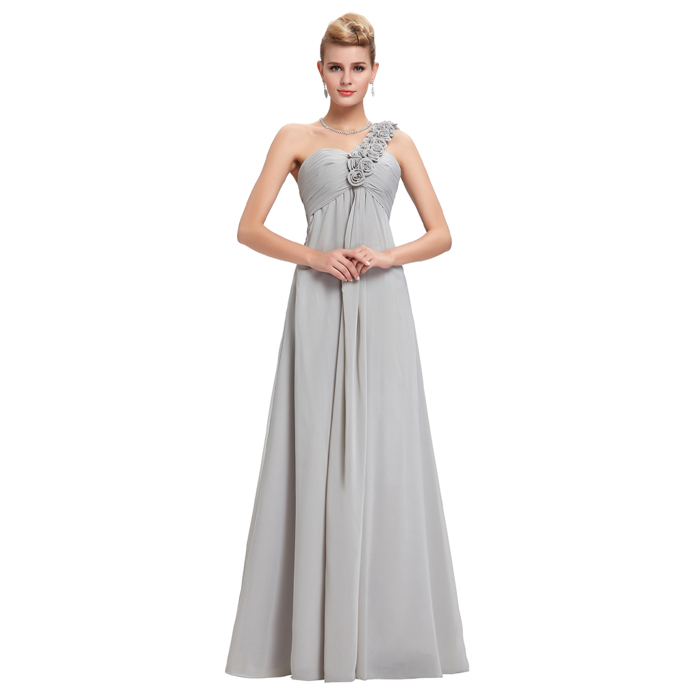 Red yellow blue grey chiffon dress bridesmaid dresses 2017 for Wedding party dresses 2017