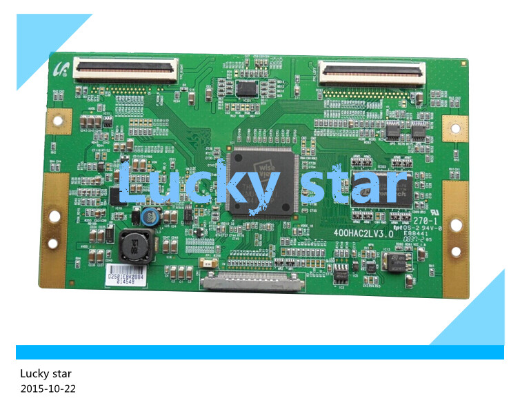 все цены на  98% new good working High-quality original for board KDL-40V5500 KLV-40V440A screen 400HAC2LV3.0 T-con logic board  онлайн