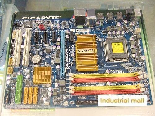 ФОТО P45 Desktop motherboard ga-ep45-ds3l EP45-DS3L LGA 775 DDR2 quad-core x38 x48