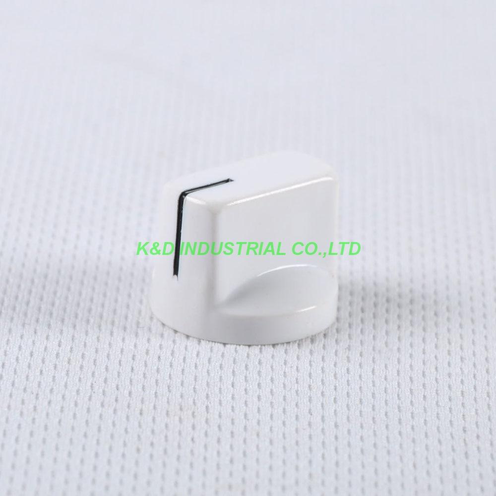 10pcs Colorful White Rotary Volume Control Plastic