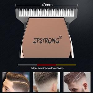 Image 3 - 100 240 220v プロフェッショナル精密バリカン電動ヘアトリマーひげシェービング機 0.1 ミリメートルカッター男性理髪散髪ツール