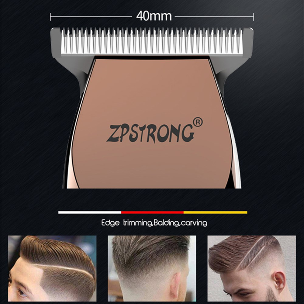 Image 3 - 100 240V Professional Precision Hair Clipper Electric Hair Trimmer Beard Shaving Machine 0.1mm Cutter Men Barber Haircut Tool-in Hair Trimmers from Home Appliances
