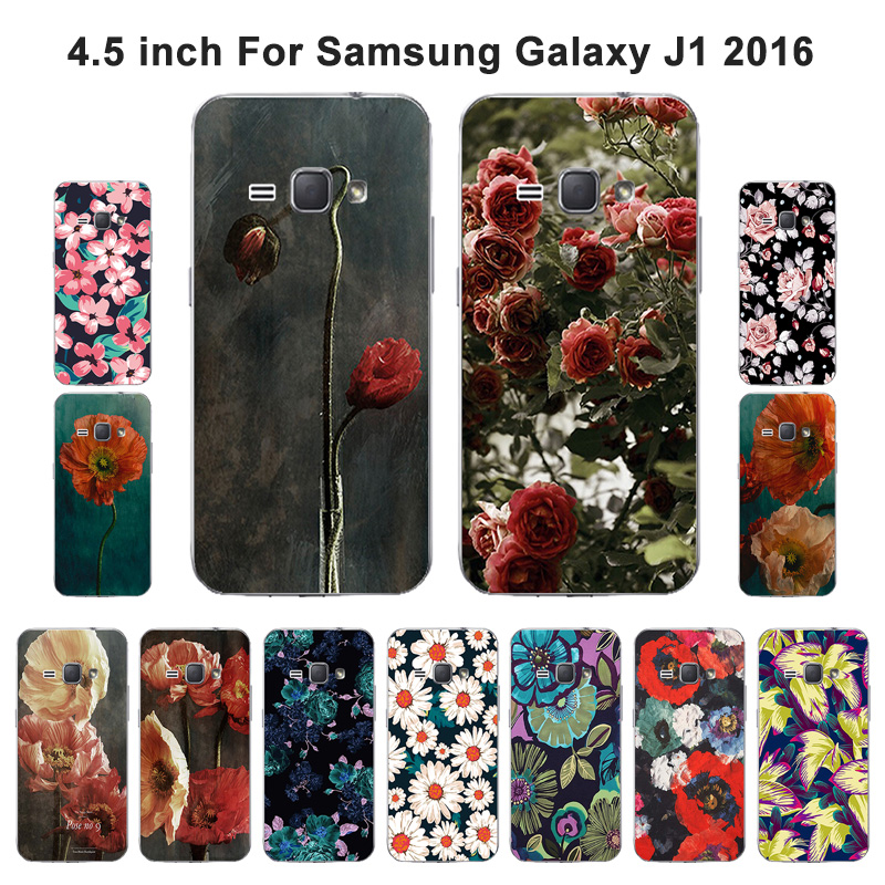 for Samsung Galaxy J1 2016 J120F Case Soft TPU Silicone Fancy Painted Cover For J1 2016 J120F J120H J120M J120M J120T