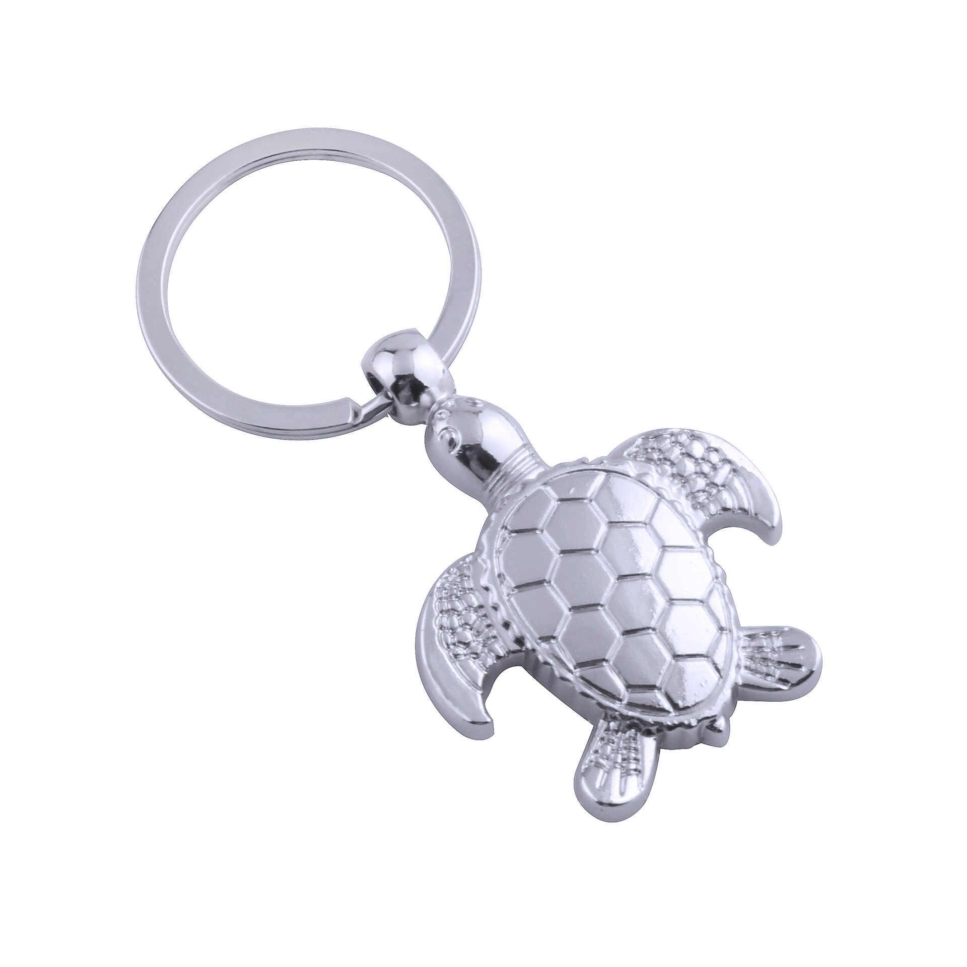 75cb5f0483 ... Fashion Tortoise Key Chain personality Animal Pendant Car Key Holder  simulation Sea turtle Keychain Bag Charm ...