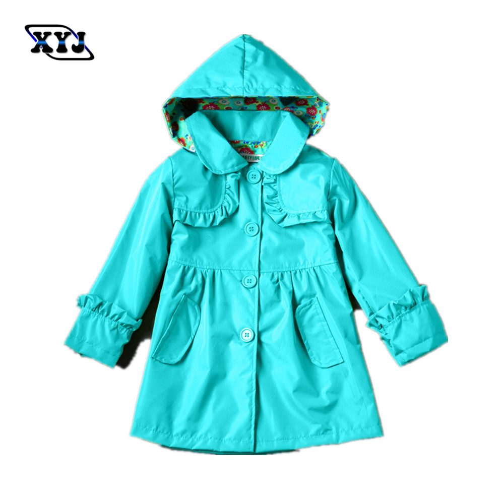 2016 Autumn Cheap Winter Coat Girl Windbreaker Kids Top