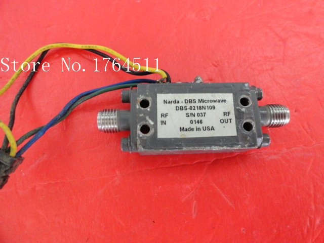 [BELLA] The Supply Of NARDA DBS-0218N109 Amplifier SMA