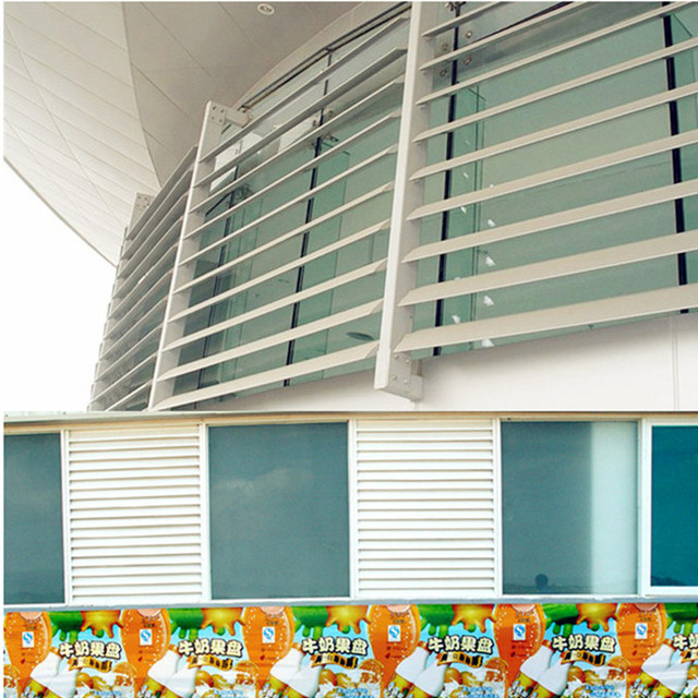 Outdoor Remote Control Curtain Flap Electric Aluminum Venetian Window Venetian Blinds