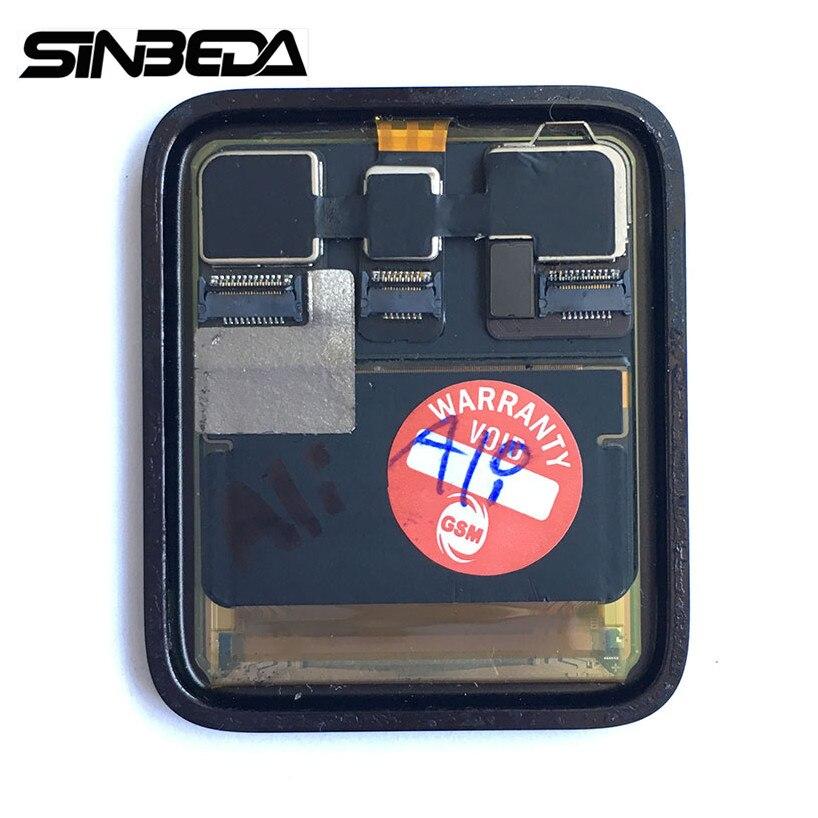 Sinbeda Sport/saphir pour Apple Watch série 2 haute qualité 38mm ou 42mm LCD écran tactile numériseur pièce de rechange