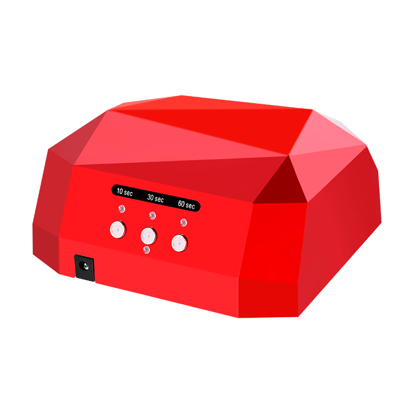 Free Shipping Sun 36W Diamond Upgraded UV&LED Nail Lamp For Nails Diamond Shaped Nail Lamp Curing for UV Gel Polish Nail Art 36w uv led lamp nail dryer 4 color diamond shaped led uv lamp nail lamp curing for uv led gel nails polish nail art tools