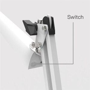 Image 4 - YOUKOYI bureau bureau pince lampe 3 niveaux gradateur réglable bras oscillant architecte LED lampe de Table avec USB Charge Led lampe lumières lampes