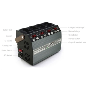 Skyrc 4p3 sk-100118 4 em 1 carregador de bateria para dji phantom 3 fantasma 4
