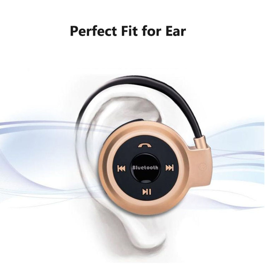 Aimitek Sport Wireless Bluetooth Headphones Stereo Earphones Mp3 Music Player Headset Earpiece Micro SD Card Slot Handsfree Mic 3