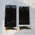 Тестирование АААА Черный/Белый/Розовый ЖК-Дисплей С Сенсорным Экраном Дигитайзер Ассамблеи Замена Ремонт Частей для Huawei Ascend P6