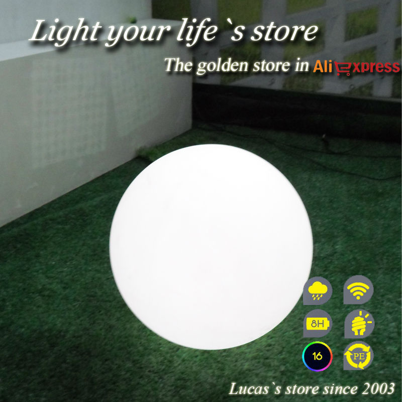 ФОТО LED sphere ball lamp with remote controller/led ball/led globe/led sphere 20cm