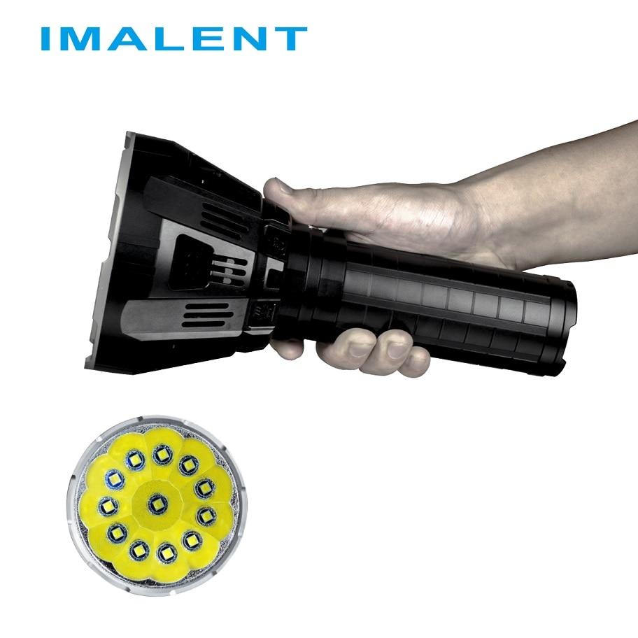IMALENT MS12 LED Lampe De Poche CREE XHP70 53000 Lumens avec Charge Intelligente pour Haute Performance Lumière de Recherche Extérieure
