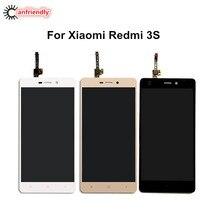 Для Xiaomi Redmi 3 S ЖК-дисплей Дисплей + Сенсорный экран Замена Digitizer a s embly для Xiaomi Redmi 3 S 3 s мобильный телефон заменит ЖК