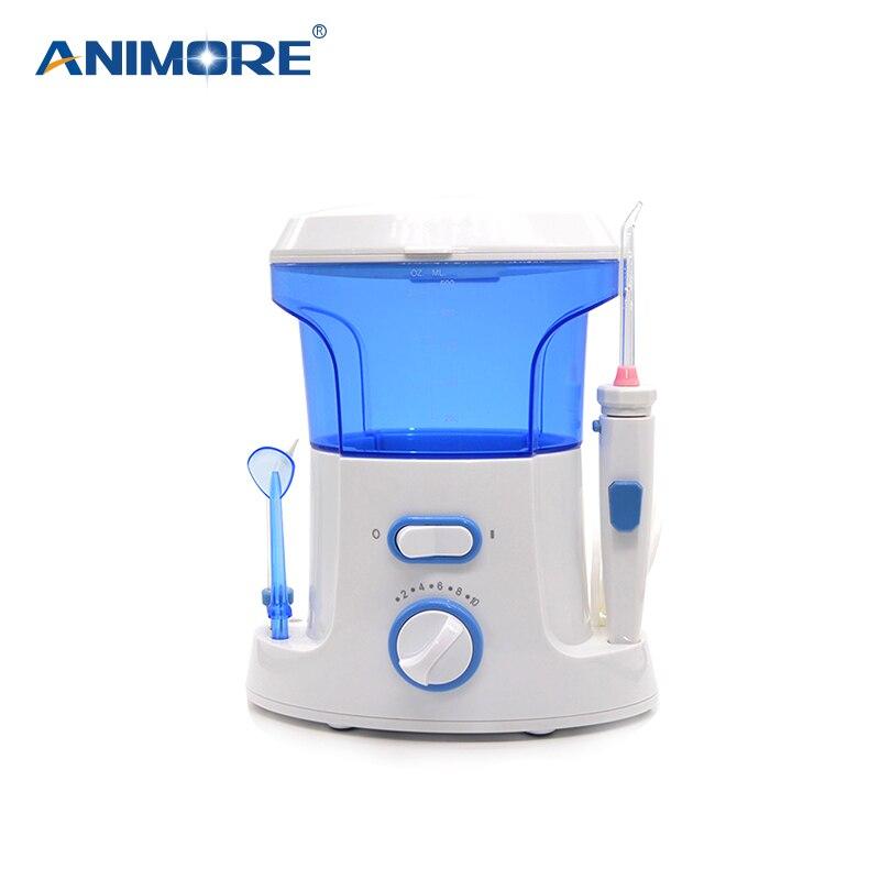 ANIMORE Eau Flosser Oral Irrigator Soie Dentaire Dentaire Jet D'eau Pour 10 Pression Paramètres Choix Eau Floss Oral Irrigation