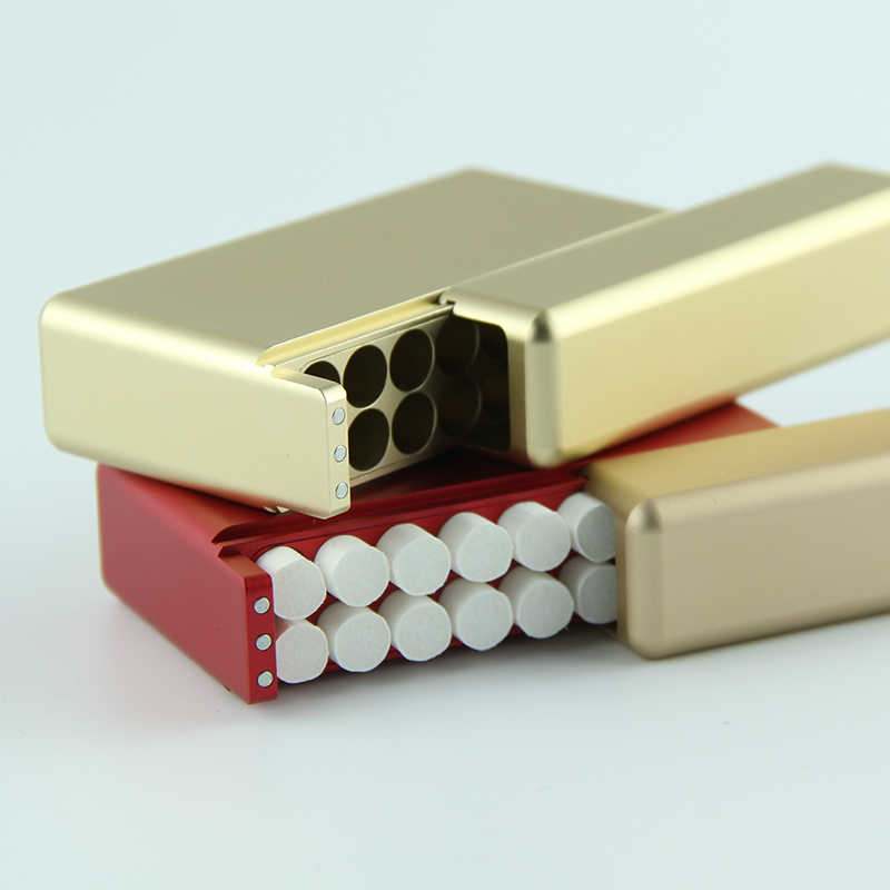 High-end electronic cigarette case 18 sticks Metal cigarette storage box for iqos 2.4Plus /3.0/lil cigarette case
