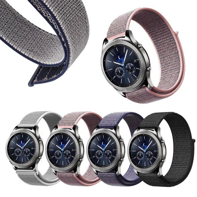 66e2b9c00ee Nylon Sport For Samsung Gear S2 Watch Band Gear Sport SM R600   Gear ...
