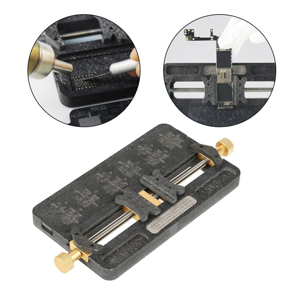 Universal Fixture High Temperature Phone PCB IC Chip Motherboard Jig Board Holder Maintenance Repair Mold Tool For Soldering