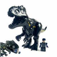 Jurásico parque mundial Indominus Tyrannosaurus Rex Indoraptor bloques de construcción dinosaurio figuras ladrillos Juguetes