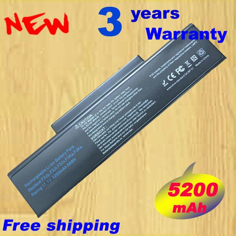 5200mAh 11.1V New Laptop Battery for ASUS M51S M51SN M51V M51VA M51VR A9 A32-F3 F2 F3