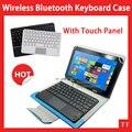 Universal caso de teclado bluetooth para samsung galaxy tab a 9.7 t555 T550 9.7 polegada Tablet PC, T555 T550 Case + grátis 2 presentes