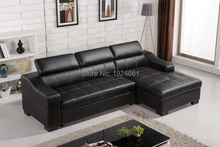2016 Chaise Beanbag Bean Bag Chair Sectional Sofa Sofas For Living Room European Style Set New Arrival Functional Real Leather