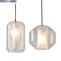 Modern Glass Lampshade Pendant Light Bar Decoration Hanging Lamp Designer Kitchen Dinning Room Pendant Lamp