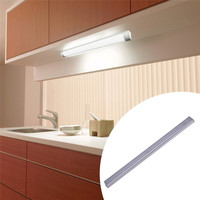 LED Cabinet Light With Motion Sensor 40cm LED Tube USB Battery Power For Kitchen Wardrobe Drawer