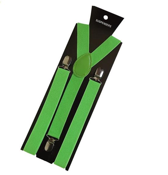 More Color For Choose New Mens Womens Unisex Clip-on Suspenders Elastic Y-Shape Adjustable Braces Colorful- 0055 14