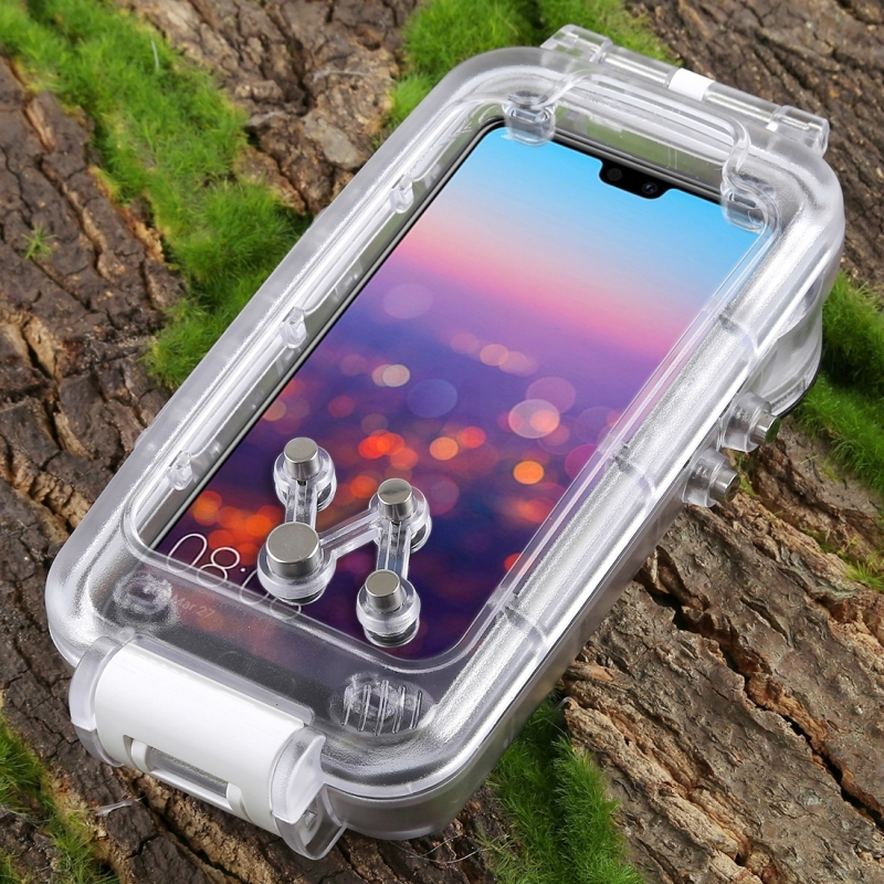 Caisson étanche de plongée professionnel pour Huawei P20 Pro boîtier 40 M vidéo prenant la couverture sous marine pour Huawei P20 Pro - 5
