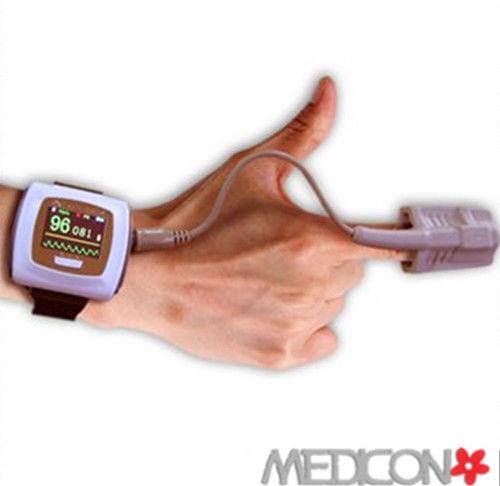 CE FDA NEW Contec CMS50F Wrist Spo2 Monitor / Wearable Digital Pulse Oximeter