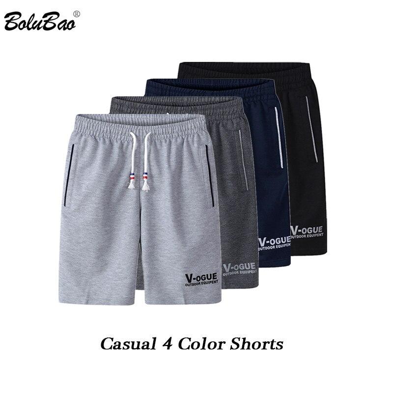 BOLUBAO New Fashion Brand Men Shorts 2019 Summer Male Breathable Shorts Mens Casual Bermuda Shorts Clothing