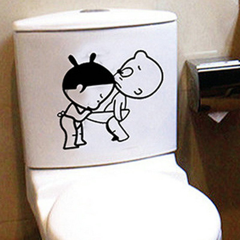 Funny bathroom decor home decoration creative toilet for Odd decorations for home