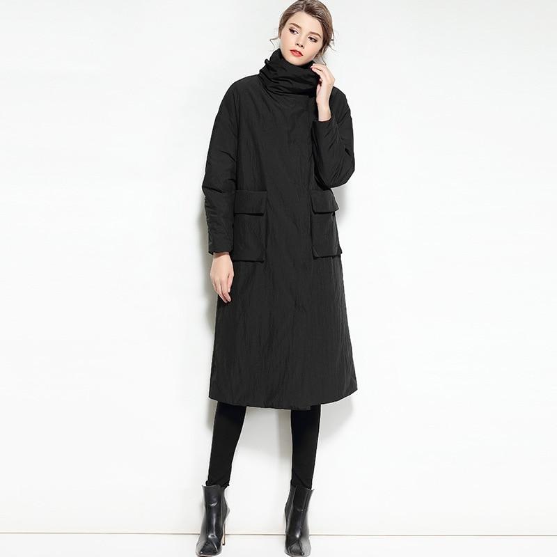 Plus Vers Femmes Coréen Canard Coupe Vestes vent Le Manteaux Piste Longue Parka Bas Veste Lumière Chaud Hiver Ultra Noir camel 2017 Puffer 0wPAqd0