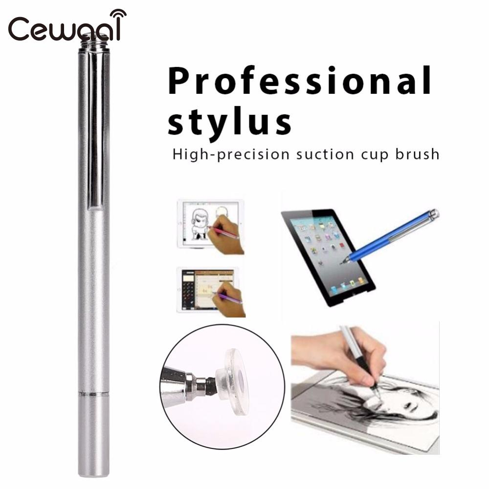 Cewaal Universal Capacitive Pen Touch Screen Point Stylus Pen Pencil For iPad Phone PC Tablet Laptop цены онлайн