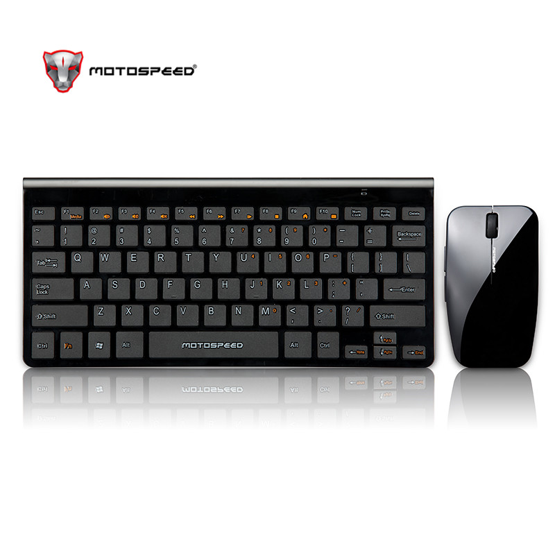 Image 5 - Motospeed G9800 2.4GWireless Keyboard and Mouse Multimedia Keyboard Mouse Combo Set For Notebook Laptop Mac Desktop PC TV Office-in Keyboards from Computer & Office