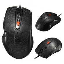 High Quality USB Wired Gaming Mouse 2000DPI Optical Computer Game Mouse With 4 Mice Buttons For PC Laptop Gamer