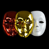 Ghost Mask Magic Trick Quick Change Mask Gimmick Stage Magic Illusions Accessories Commedy 2015 New
