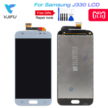 20PCS For Samsung Galaxy J3 2017 LCD J330 J330F J330G Display Touch Screen Digitizer screen j330