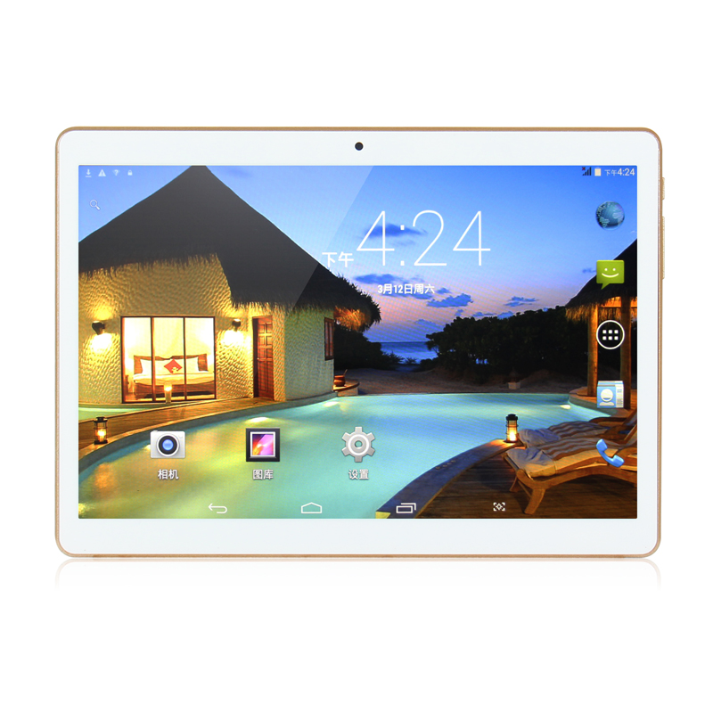 2017 New Google Android 7 0 OS 10 inch tablet 4G FDD LTE Octa Core 4GB